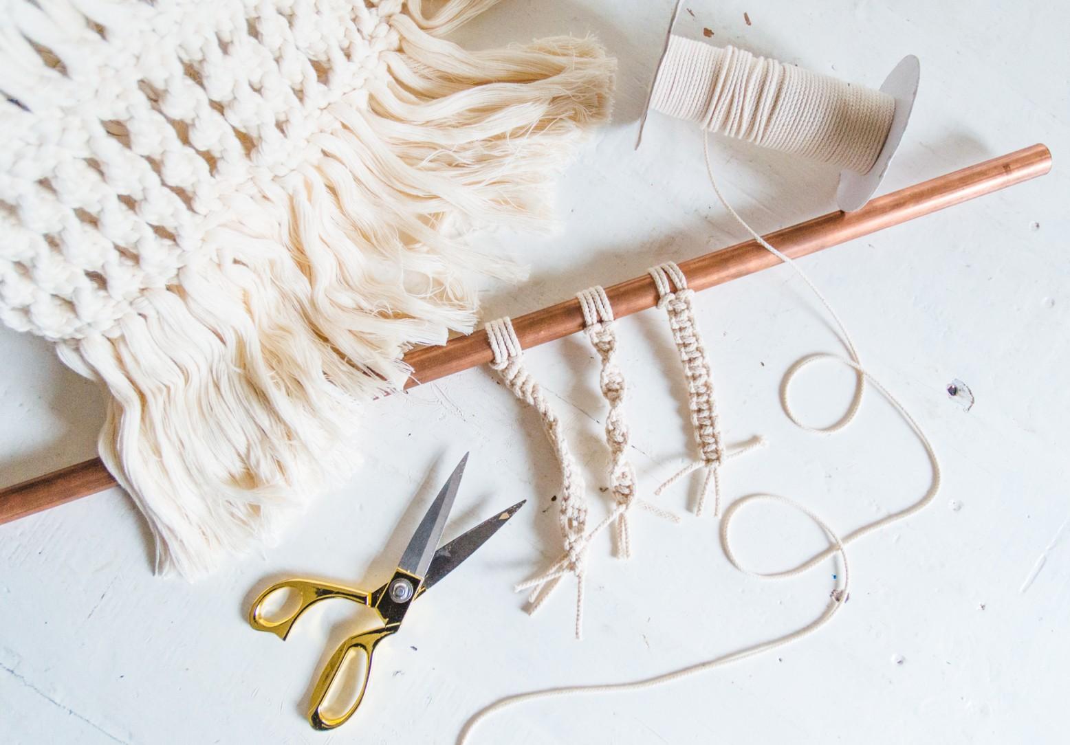Cara Membuat Kerajinan Dari Tali Rami