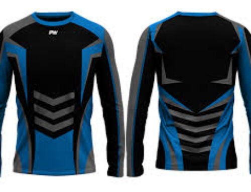 Desain Kaos Futsal Depan Belakang Lengan Panjang yang Modern