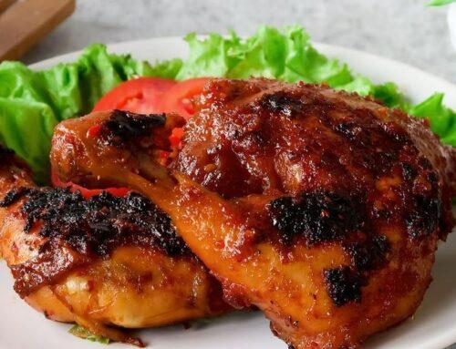 Cara Memasak Ayam Panggang Bumbu Rujak Enak dan Mudah Dibuat