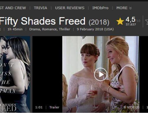 Lihat Betapa Memukaunya Film Fifty Shades Freed Secara Mendalam